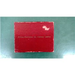 McColl Frontenac Red Indian Card Box