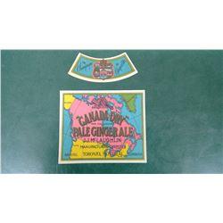 McLaughlin Bottle Label