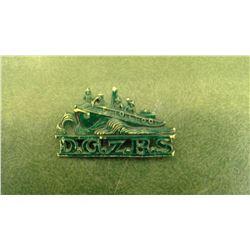Rare German Shipwreck Rescue Pin
