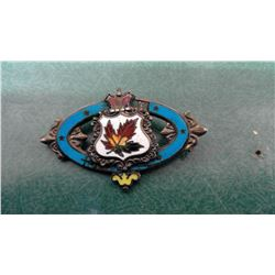 Sterling Canada Pin
