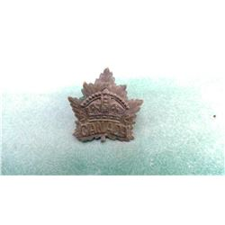Canada Army Cap Badge