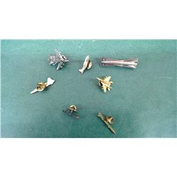 Various Military Jet Fighter Pins