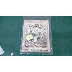 1919 Punch Magazine