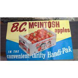 B.C. Apple Poster