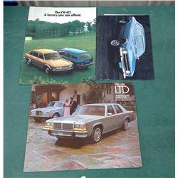Ford/VW Brochures