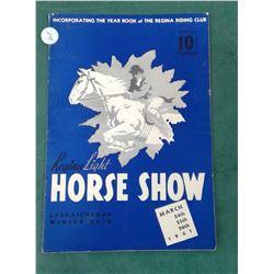 Regina 1941 Horse Show