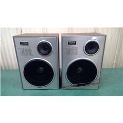Set of 2 Speakers in Crate - Yorx Brand