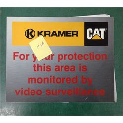 Kramer CAT Metal Sign