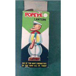 1950's Popeye Lantern