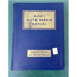 Auto Repair 1949 Manual