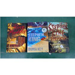 Stephen King 1st Printing HDCVR Lot