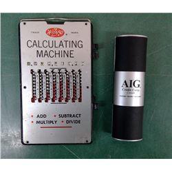 Abacus & Adding Machine