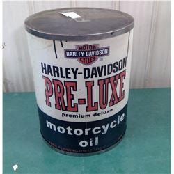 Harley Davidson Dealer Display Oil Can