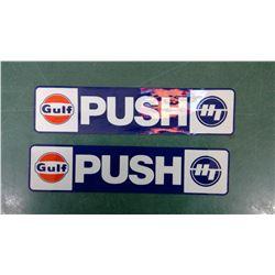 Push/Pull Gulf Door Sign