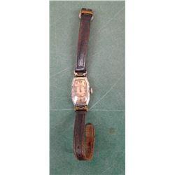 Gruen Monogrammed Watch