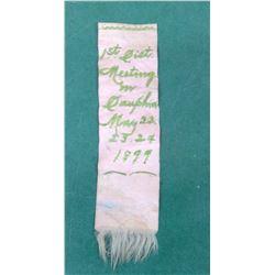 Vintage Ribbon - 1899