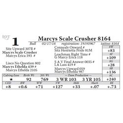 Marcys Scale Crusher 8164