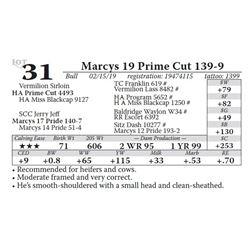 Marcys 19 Prime Cut 139-9
