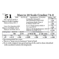 Marcys 20 Scale Crusher 74-0