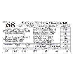 Marcys Southern Charm 63-0