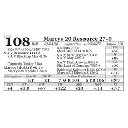 Marcys 20 Resource 27-0