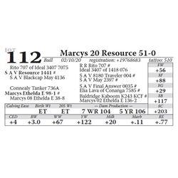 Marcys 20 Resource 51-0