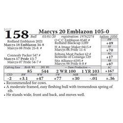 Marcys 20 Emblazon 105-0