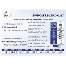 Bobcat Legend G217
