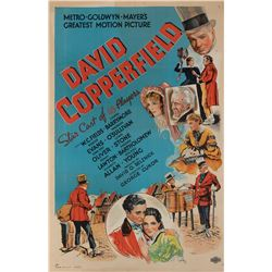 W. C. Fields one-sheet poster for David Copperfield.