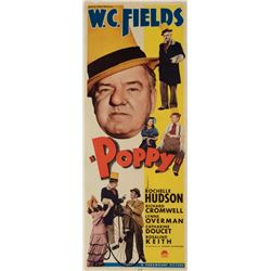 W. C. Fields insert card poster for Poppy.