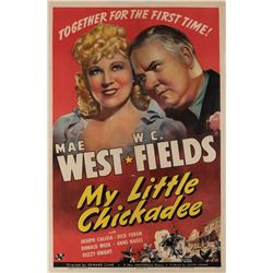 W. C. Fields one sheet poster for My Little Chickadee.