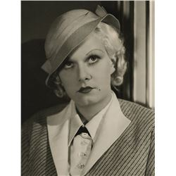 Jean Harlow collection of (7) portrait and production photographs.