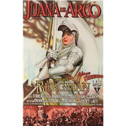 Joan of Arc 1-sheet linen backed Argentinian poster.