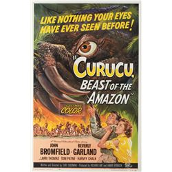 Curucu Beast of the Amazon 1-sheet linen backed poster.
