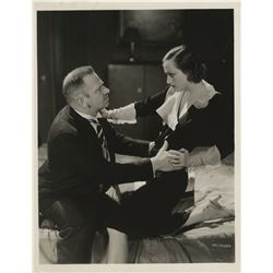 Hollywood pairs collection of (5) photographs including Joan Crawford and Wallace Beery.