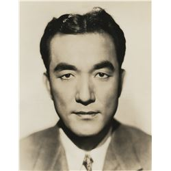 Sessue Hayakawa collection of (5) portrait photographs including 3-for Daughter of the Dragon.