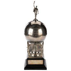 Robert Montgomery Art Deco horse racing trophy from Santa Anita Park.