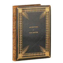 Director Norman Taurog annotated personal custom bound script for Adventures of Tom Sawyer.