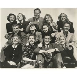 William Holden and Jean Arthur collection of (7) photographs from Arizona and more.