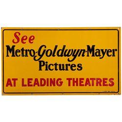 Vintage MGM Studio sign.