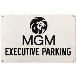 MGM Studio executive parking sign.