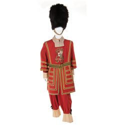 """Lord Layton """"Jacob Hall"""" Beefeater costume and hat from The King's Thief."""