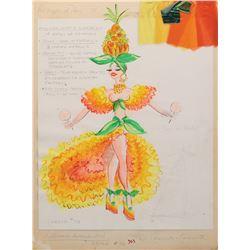 Sid & Marty Krofft costume design for their traveling puppet show Les Poupées de Paris.
