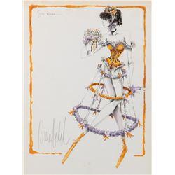 Donfeld (4) original costume sketches.