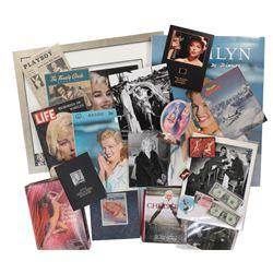 Marilyn Monroe monumental collection of (225+) photographs, magazines, posters, ephemera & merch
