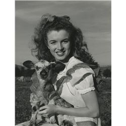 Marilyn Monroe collection of (37) photographic prints by Andre De Dienes, George Barris and others.