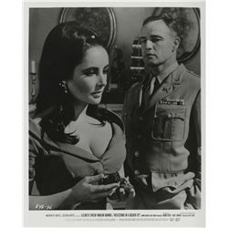 Elizabeth Taylor (13) photographs from various films including Giant and Cleopatra.