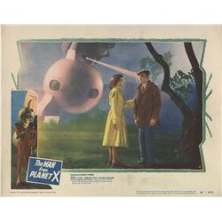 Man From Planet X (2) lobby cards.