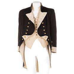 """Charles Laughton """"Captain Bligh"""" Royal Navy officer coat and vest from Mutiny on the Bounty."""