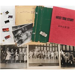 Choreographer Alan Johnson archive for Broadway and touring stage productions of West Side Story.